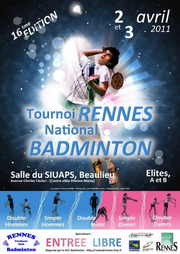 Affiche du tournoi national 2011