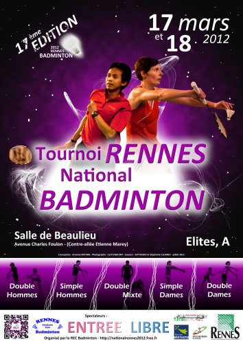Affiche du tournoi national 2012