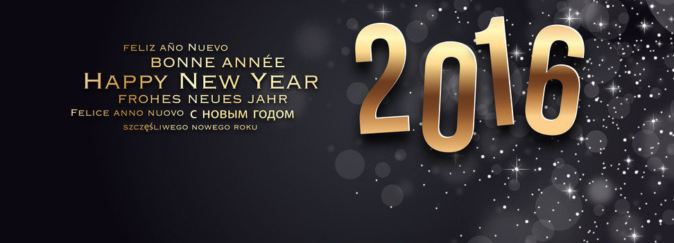 Carte de voeux - Happy New Year 2016